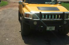 Hummer H3 2005 Yellow For Sale