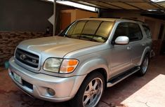 Toyota Sequoia 2004 Petrol Automatic Grey/Silver for sale