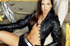[Photo gallery] Danica Patrick, the sexiest racing car driver