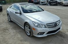 Mecedes Benz E350 2010 silver for sale