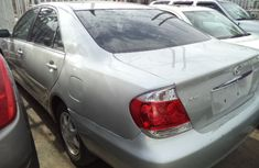 Foreign used Toyota Camry 2005 silver for sale