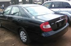 Foreign used Toyota Camry 2005 black for sale