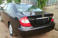 Clean Toyota Camry 2005 black for sale