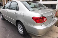 Toyota Corolla 2006 silver for sale