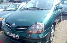 Nissan Almera Tino 2003 Petrol Automatic Green for sale