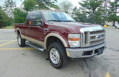 Ford F250 2008 Red FOR SALE