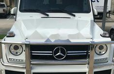 Mercedes-Benz G63 2013 Petrol Automatic White for sale