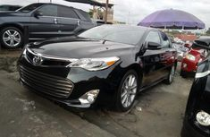 Toyota Avalon 2013 Petrol Automatic Black for sale