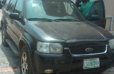 Clean Ford Escape 2003 Black For Sale