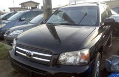 Toyota Highlander for sale 2006 model black