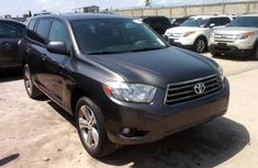 Toyota Highlander 2007 grey for sale