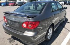 2005 Toyota Corolla Grey for sale