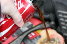 How to clean corroded car battery with Coca Cola