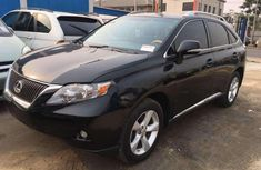 Lexus RX 2010 black for sale