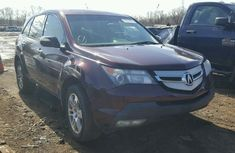 2008 ACURA MDX TECHNOLOGY BROWN FOR SALE