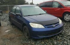 2004 Clean Honda Civic Ex blue for sale..