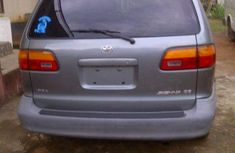 Foreign used Toyota Sienna 1998 blue for sale