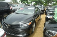 Toyota Camry 2018 Petrol Automatic Black for sale
