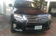 Lexus LX 2013 Petrol Automatic Black for sale