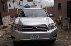 2015 foreign used Toyota Highlander silver for sale