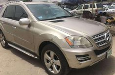 Mercedes-Benz ML350 2010 Petrol Automatic Gold for sale