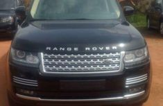 Good used 2012 Black Range Rover for sale