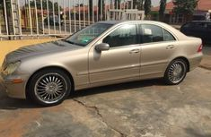 Mercedes Benz C240 2005 Gold for sale