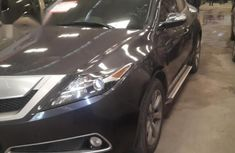 Reg Acura ZDX 2010 Brown FOR SALE