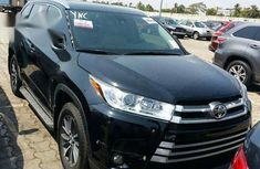 New Toyota Highlander 2017 Black for sale