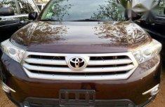 Toyota Highlander 2011 Brown FOR SALE