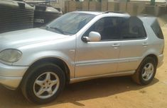 Mercedes Benz ML 320 2000 Silver for sale