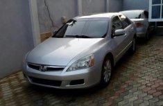 Honda Accord 2007 Silver FOR SALE