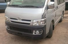 Neat Toyota Hiace Bus 2008 for sale at an auction price