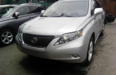 Lexus RX 2010 Petrol Automatic Grey/Silver for sale