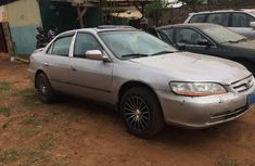Honda Accord 2001 Petrol Automatic Grey/Silver for sale
