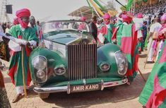1952 Rolls-Royce Silver Wraith ALW 11: Royal heritage of the Emir of Kano