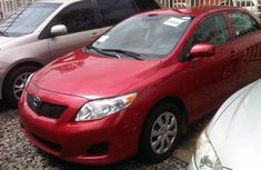 Foreign used Toyota Corolla 2008 red for sale