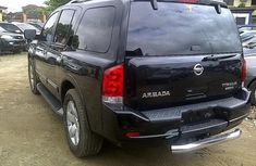 Good used 2004 Nissan Armada black for sale