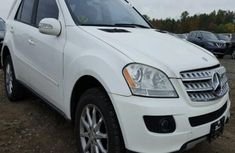Mercedes Benz Ml350 2006 model white for sale