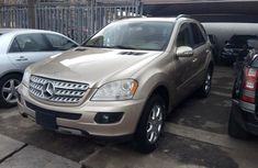 Mercedes Benz Ml350 2006 model gold for sale