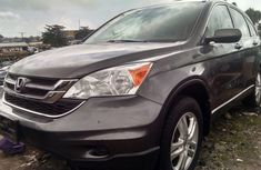 Clean Honda Crv 2010 grey for sale with full option