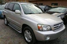 Toyota Highlander 2005 silver for sale