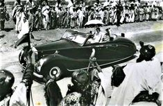 Who was the real owner of the Rolls-Royce used by Queen Elizabeth II during her first visit to Nigeria?