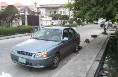 Hyundai Accent 2002 Blue for sale