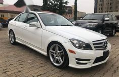 Mercedes Benz C350 2013 White for sale