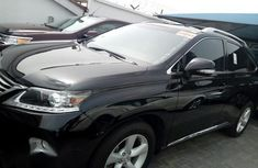 Lexus RX350 2013 Black for sale