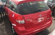 Toyota Matrix Petrol 2004 red for sale