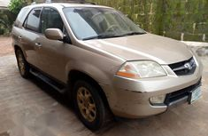 Acura MDX 2002 Gold for sale