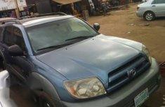 Toyota 4runner 2004 Blue for sale