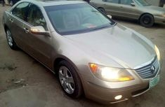Very Neat Nigeria Used Acura RL 2005 Gold for sale